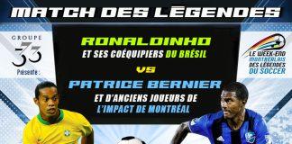 Ronaldinho vs Bernier à Montréal